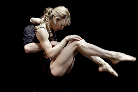 A Few Minutes of Lock: Louise Lecavalier & Keir Knight (Foto © Massimo Chiarradia)